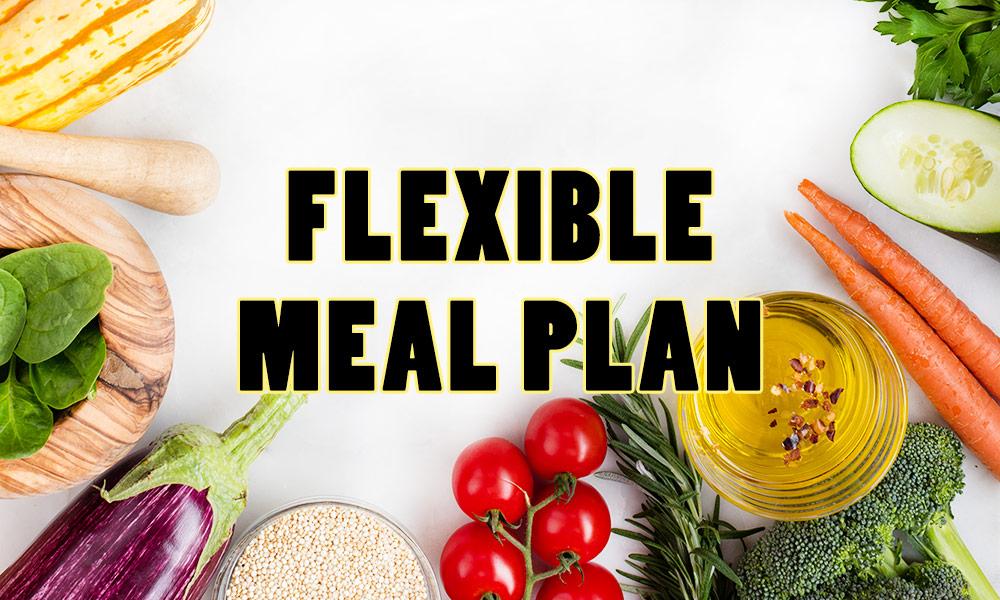 flexible meal plan