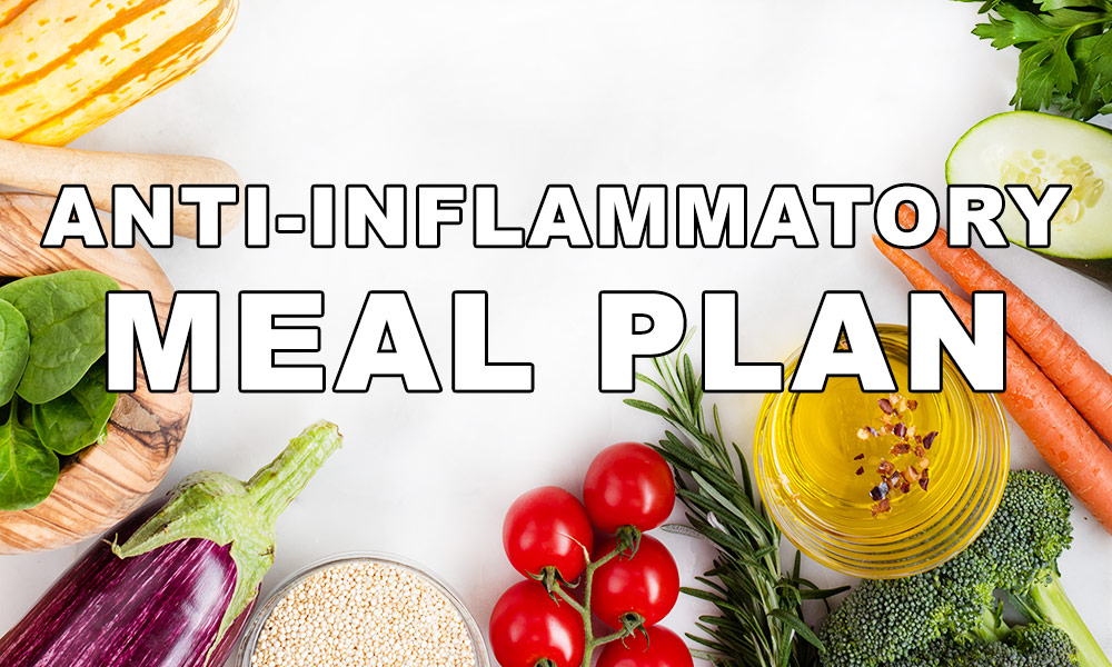 anti-inflammtory meal plans